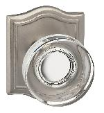 Omnia 936AR Prodigy Glass Knob with Arched Rose
